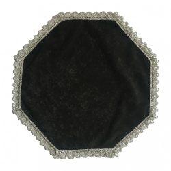 Urnahordozó takaró - sima fekete