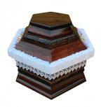Hatszög urnakoporsók
